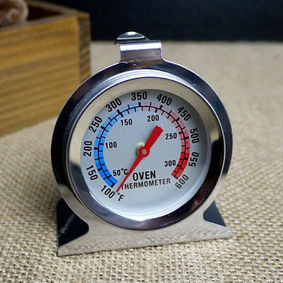 New Home Stainless Steel Temperature Oven Thermometer Gauge Kitchen Food WH