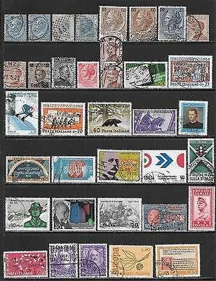 ITALY Interesting and Diverse Mint and Used Issues Selection (Dec 0276)