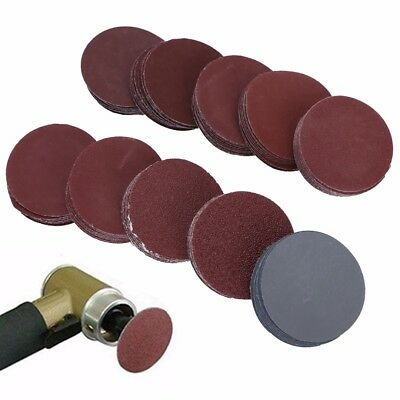 100pcs 2 Inch 50mm Sander Disc 80-3000 Grit Sanding Polishing Pad Sandpaper Tool
