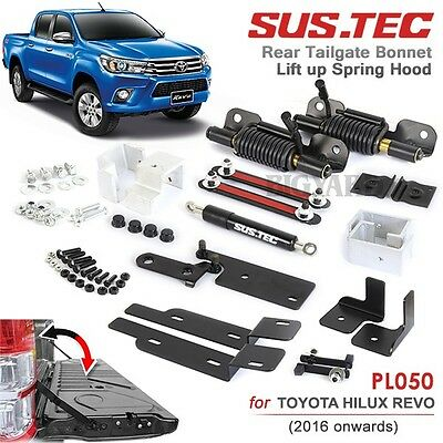 SUSTEC for Toyota Hilux Revo SR5 M70 M80 2016-ON Rear Trunk Strut Tailgate Kit
