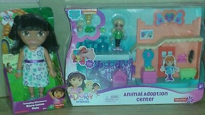 Fisher-Price Dora Doll and Play Set