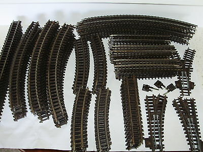 Triang Super 4 Track sections & points x 130 pieces. Good cond. OO Scale.