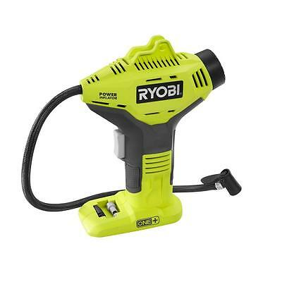 RYOBI 18-Volt ONE+ Cordless Power Air Compressor Tire Inflator Tool-Only 150 psi