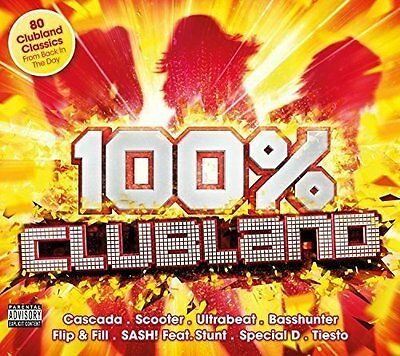 100% Clubland by Various Artists New Music CD