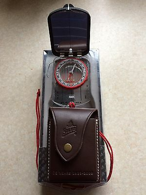 silva compass Ranger 16 With Leather Case