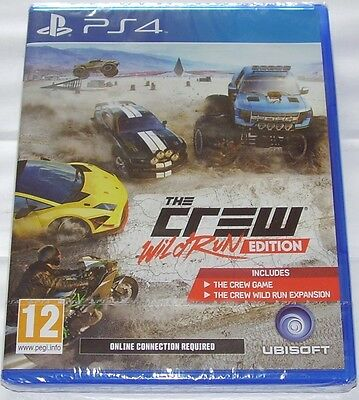 The Crew Wild Run Edition For Ps4: New & Sealed