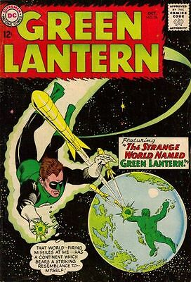 GREEN LANTERN 24 + FREE FOIL 2nd SERIES BALLOON DC AMERICAN COMIC NO BACK COVER