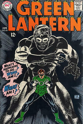 GREEN LANTERN 58 + FREE FOIL BALLOON 2nd SERIES DC AMERICAN COMIC