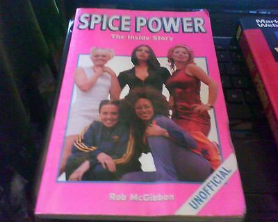 Spice Girls The Inside Story Paperback Unofficial