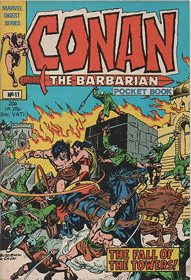 Conan Pocket Book 11 British Marvel