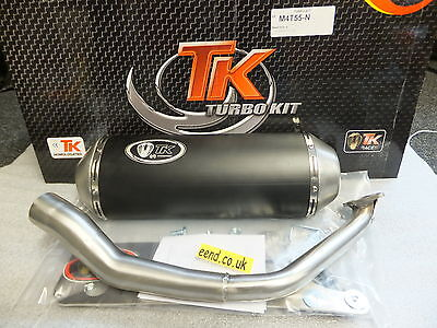 Kymco Agility  125 & 150  Etc 4 Stroke Turbo Kit Stainless Steel Exhaust