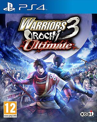 NEW & SEALED! Warriors Orochi 3 Ultimate Sony Playstation 4 PS4 Game