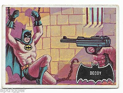 1966 Topps BATMAN Black Bat (49) Decoy