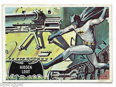 1966 Topps BATMAN Black Bat (55) Hidden Loot