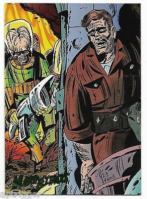 1994 Topps Mars Attacks Base Card (#68) Keith Giffen's Cover #2