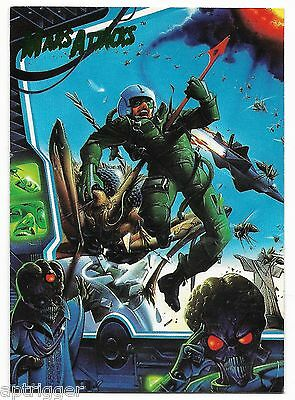 1994 Topps Mars Attacks Base Card (#69) Ken Steacy's Cover #3