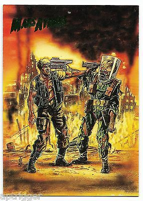 1994 Topps Mars Attacks Base Card (#71) Ted Boonthanakit's Cover #5
