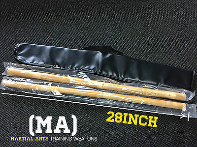 Rattan Sticks for Escrima Arnis Kali Self Defence Training- Includes Carry Bag!!