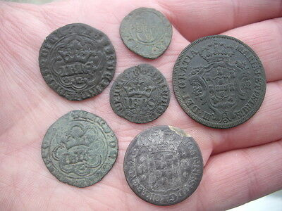 Medieval lot 6 - coin Portugal to identify