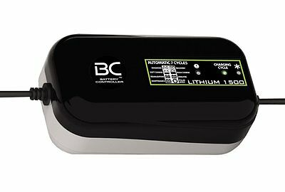 Chargeur de batterie lithium 12V 1500ma (pack luxe) - BATTERY CONTROLLER