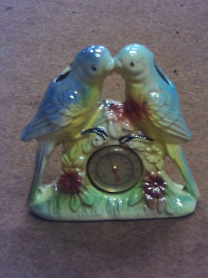 lustre budgie ornament thermometer
