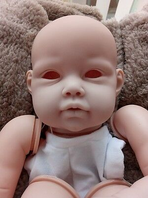REBORN DOLL KIT  ELLA MAE BY Jannie de Lange  WITH BODY