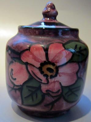 Longpark Torquay Devon Art Pottery Ware Small Lidded Pot