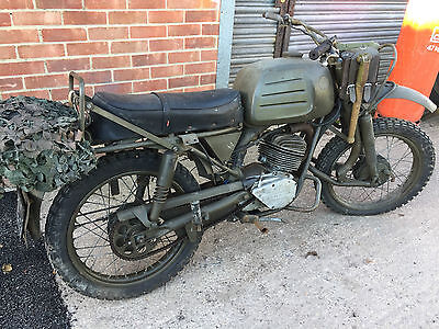 GERMANY SACHS HERCULES K125 BW, military 1969 model Genuine Army