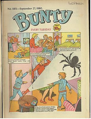 BUNTY NO 1185 Sept 27th 1980
