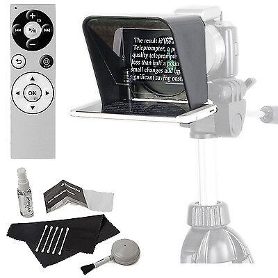 Parrot Portable Teleprompter 2 for Smartphone + Parrot Remote and Cleaning Kit