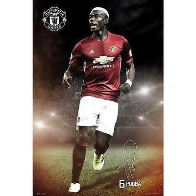 Official Licensed Football Product Manchester United Poster Paul Pogba Wall 20