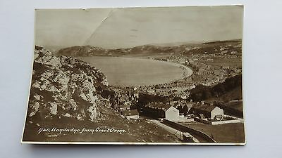 Postcard Llandudno from Great Orme. Posted 1948.