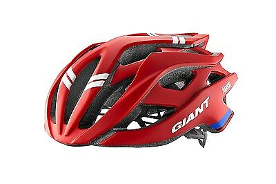 Giant Rev Team Issue Western Alpecin Helmet Fahrrad Helm Rot