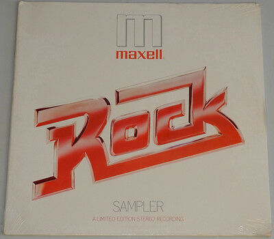 Lp Us**various - Maxell Rock Sampler (Rca '79 / Sealed)***10053