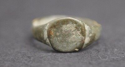 Ancient Roman Bronze Finger Ring 1St - 3Rd Century Ad