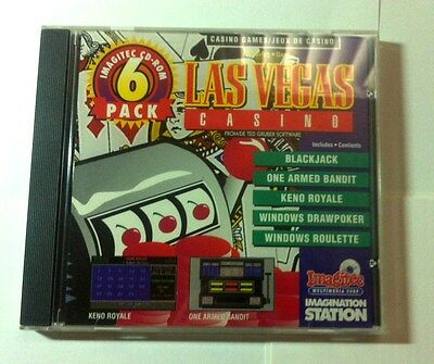 Las Vegas Casino Windows Computing Cd Game Blackjack Keno Drawpoker Roulette