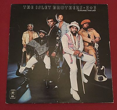 The Isley Brothers 3+3 Featuring That Lady Vinyl Lp