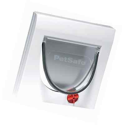 PetSafe 917EF Staywell Manual 4-Way Locking Classic Pet Cat Flap with Tunnel