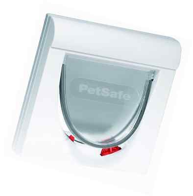 PetSafe Staywell Magnetic 4 Way Locking Classic Pet Cat Flap FAST FREE DELIVERY