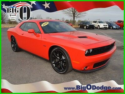 2016 Dodge Challenger R/T PLUS 2016 DODGE CHALLENGER R/T PLUS Used 5.7L V8 16V Manual RWD Coupe Premium