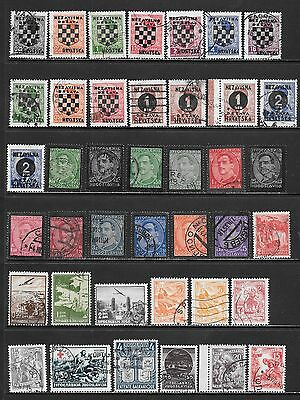 YUGOSLAVIA Interesting and Diverse Mint & Used Issues Selection 'K' (Dec 0449)