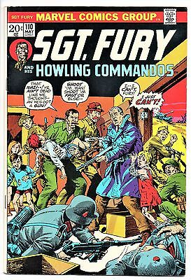 MARVEL COMIC Sgt Fury and His Howling Commandos (1963- 1981)   #110  Very Fine -