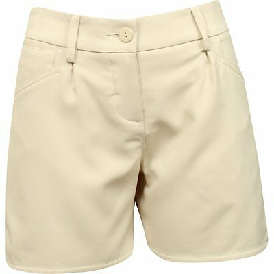 Womens Puma Short Oatmeal Golf Shorts