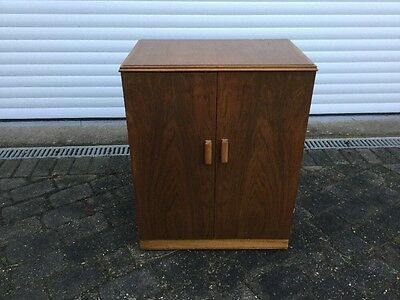 Vintage His Masters Voice 1950s Vinyl Record Cabinet