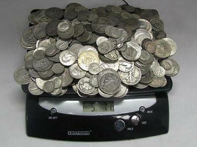 $100 Face Pre-1965 90% Silver Bullion Mixed Lot Old US Coins Bag