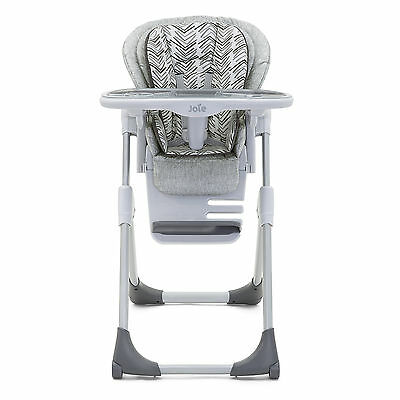 New Joie Abstract Arrows Grey Mimzy Lx Highchair Adjustable Baby High Chair