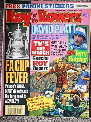Roy Of The Rovers Comic 24th November 1990