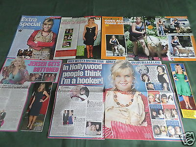 "Ashley Jensen - Tv/film Star - ""clippings /cuttings Pack"""
