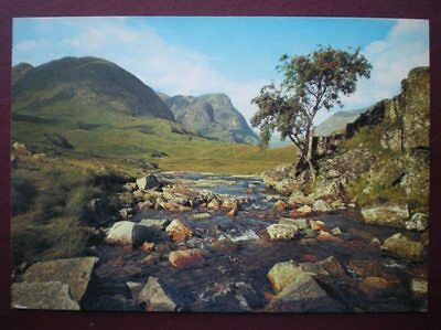 Postcard Inverness-Shire The Pass Of Glen Coe