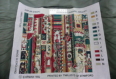 Ehrman Tapestry Kit - Jaipur Stripe - 1992